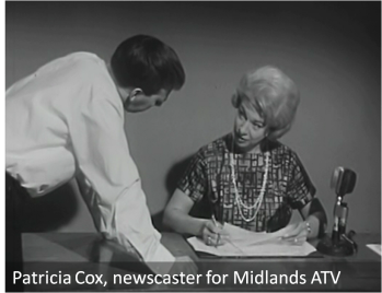 Patricia Cox c.1963 © Image courtesy of Media Archive for Central England (MACE)