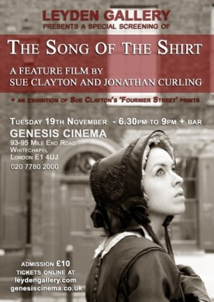 The Song of the Shirt poster