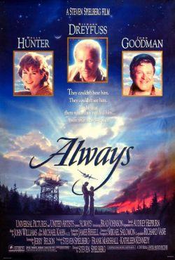 Risultati immagini per ALWAYS ( 1989 ) POSTER
