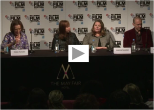 Watch 'The Invisible Woman' press conference at the London Film Festival 2013