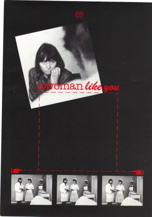 Cover for 'A Woman Like You' (SFC, 1976) © Image courtesy of Sheffield Film Co-op