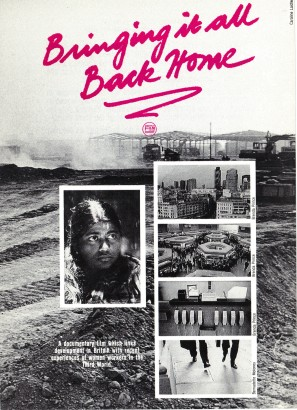 Leaflet for 'Bringing It All Back Home' (SFC, 1987) © Image courtesy of Sheffield Film Co-op