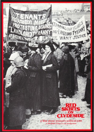 Leaflet for 'Red Skirts on Clydeside' (SFC, 1984) © Image courtesy of Sheffield Film Co-op