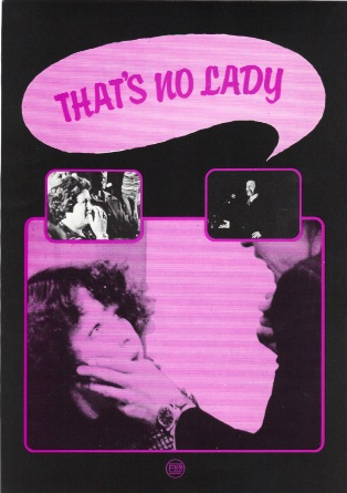 Cover for 'That's No Lady cover' (SFC, 1977) © Image courtesy of Sheffield Film Co-op