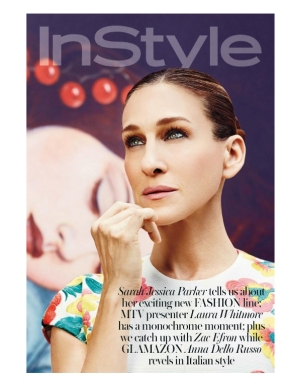 Sarah Jessica Parker in InStyle magazine, May 2014