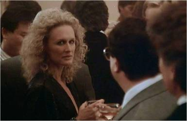 Glenn Close as Alex Forrest in Fatal Attraction (1987)