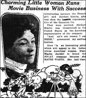 """""""Charming Little Woman..."""" article on Alice Guy Blaché"""