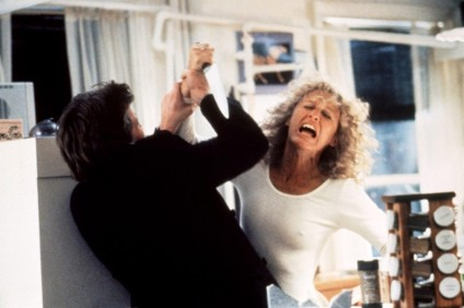 Glenn Close as Alex in Fatal Attraction (1987)