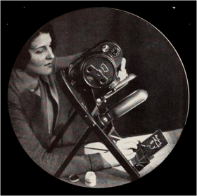 Amateur film title writer