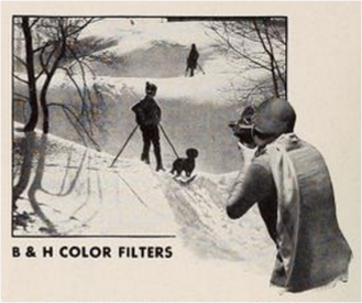Amateur filmmaking equipment advertisement