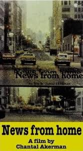Chantal Akerman's News from Home (1977) poster