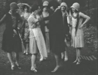 A scene from Sally Sallies Forth (1929)