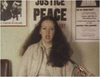 Maureen Gibson in Visibility Moderate (1982, dir. Vivienne Dick)