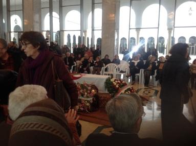 Funeral of Assia Djebar